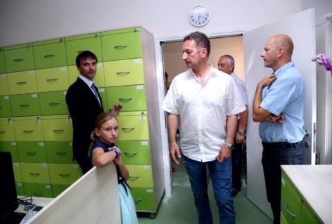 Otvoritev ambulante ZD Koper v KS Pobegi - Èežarji