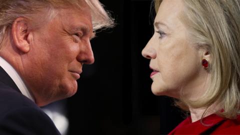 trump vs hillary
