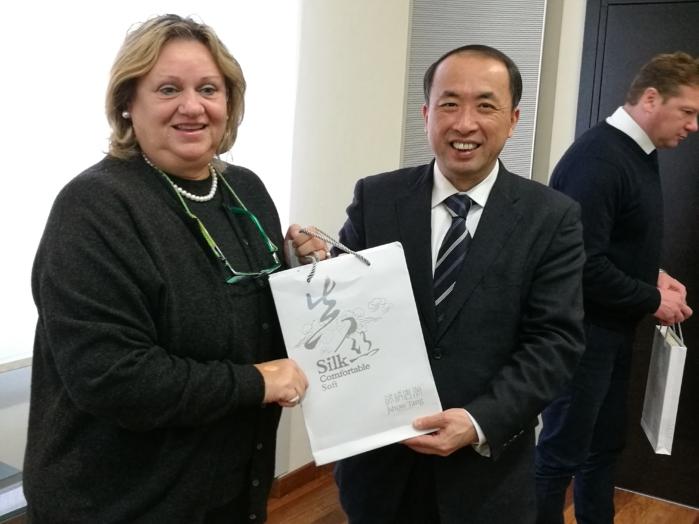 Delegacija Kitajska
