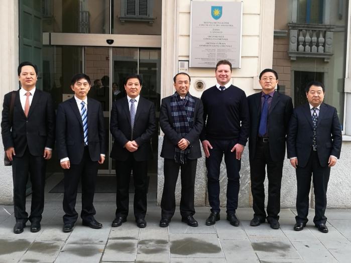 Delegacija s Kitajske