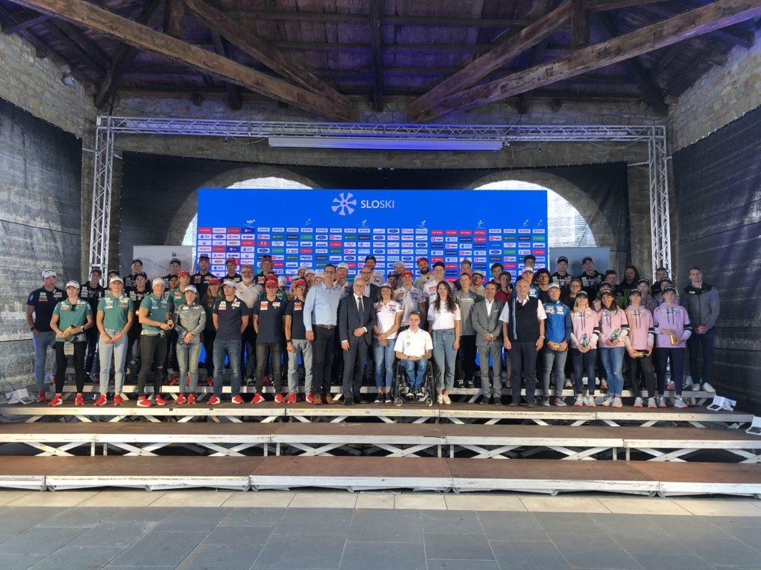 V Kopru so se predstavile reprezentance Smučarske zveze Slovenije