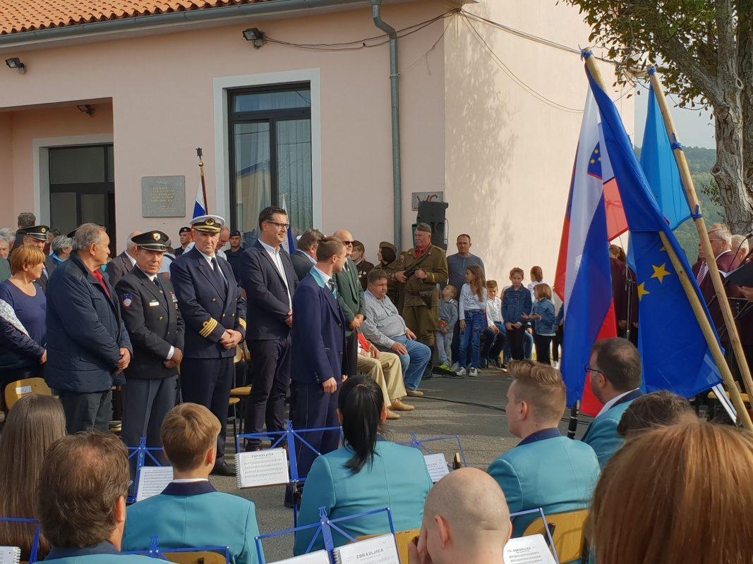 V Loparju obeležili 75. let mornariškega odreda