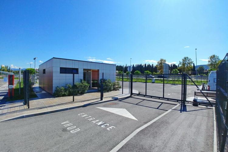 Koprsko postajališče za avtodome najbolj urejeno postajališče za avtodome v Sloveniji