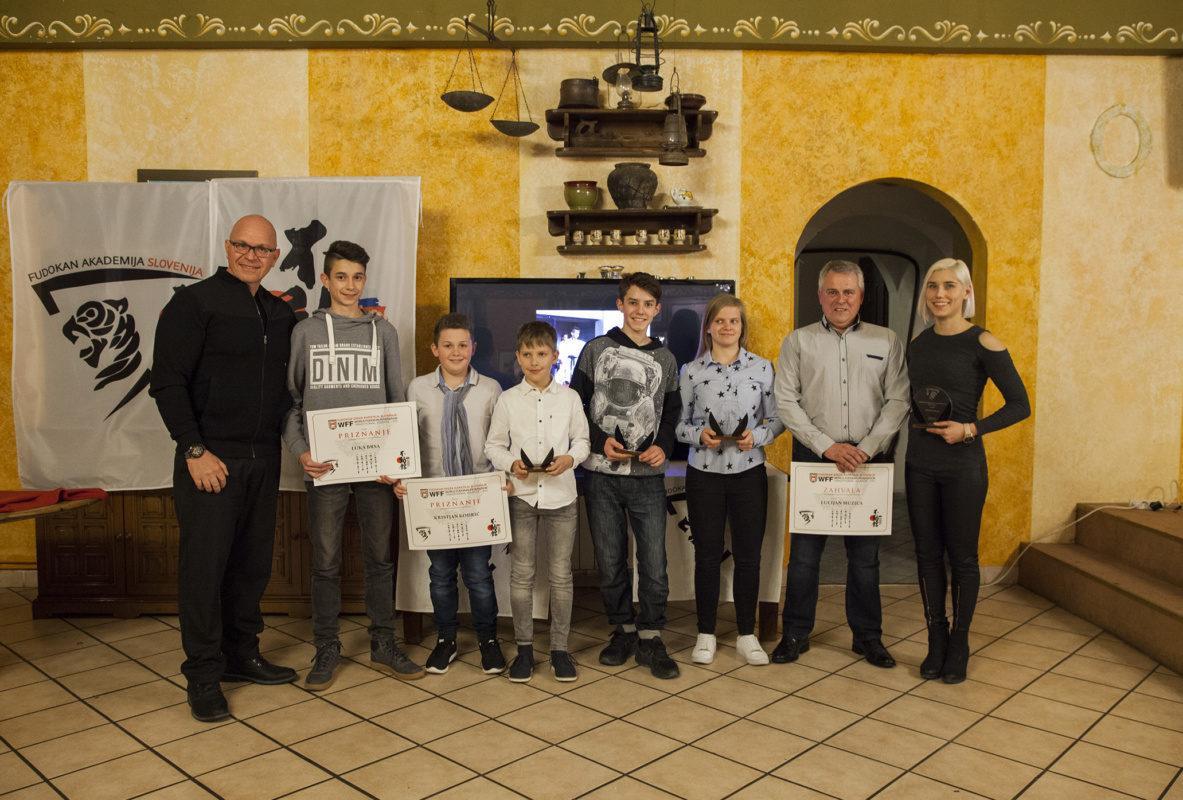 Podelili so priznanja Fudokan Akademije Slovenije
