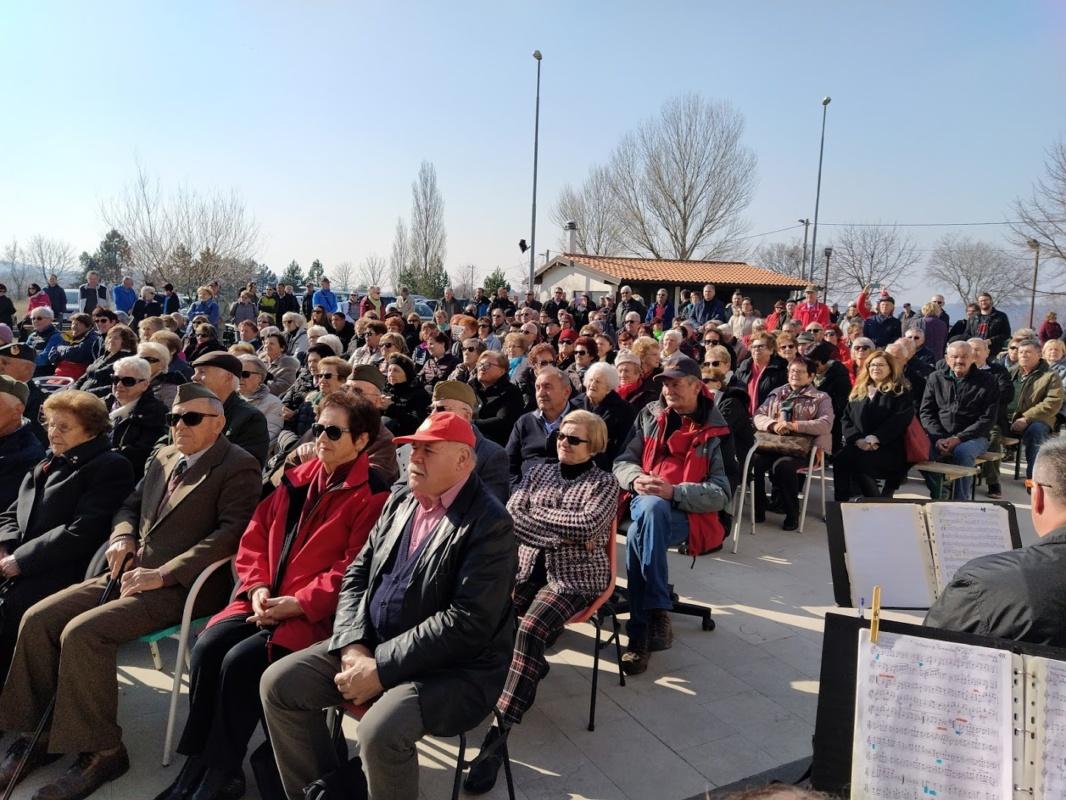 V Borštu počastili spomin na boj za Komando mesta Koper