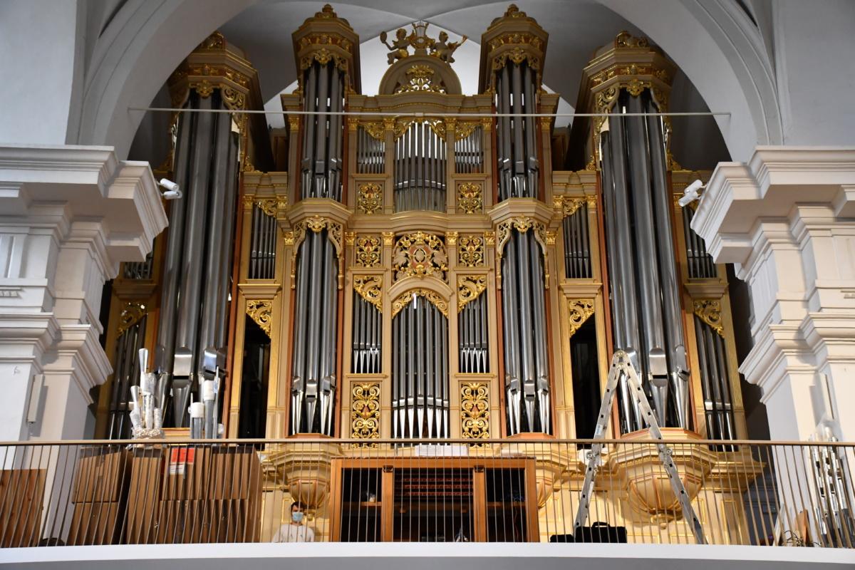 Jeseni bodo prvič zadonele nove orgle v koprski stolnici
