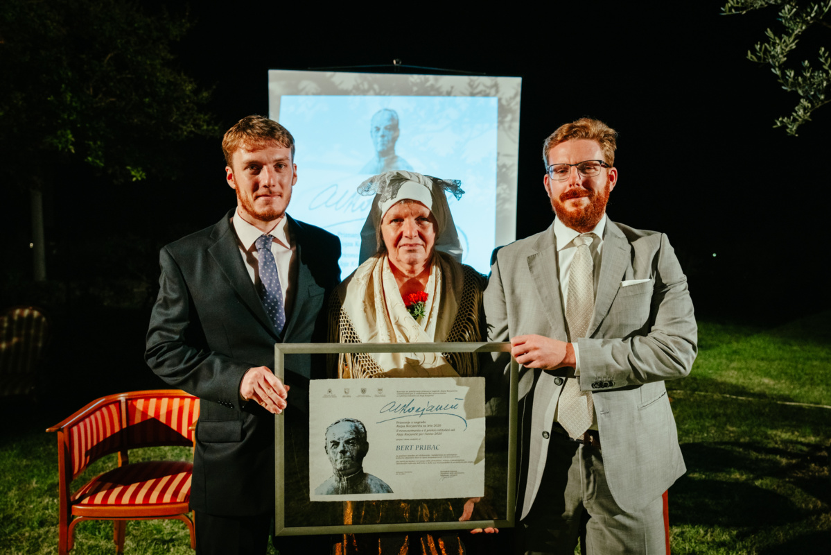 Beg v besede ob podelitvi priznanja z nagrado Alojza Kocjančiča